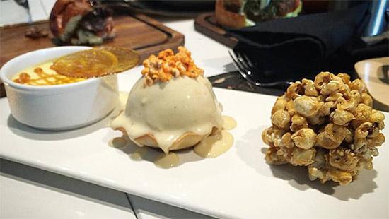 Popcorn Dessert