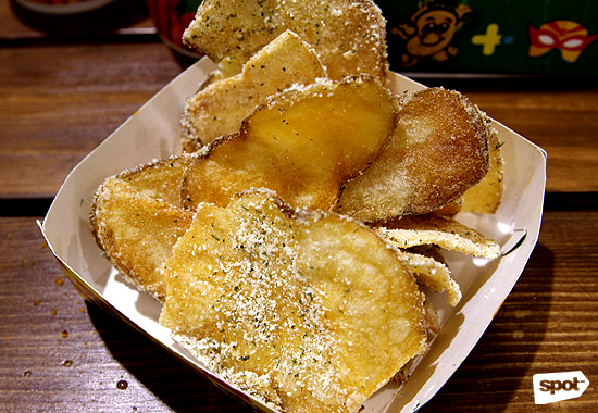 Potato Corner Nacho Bimby