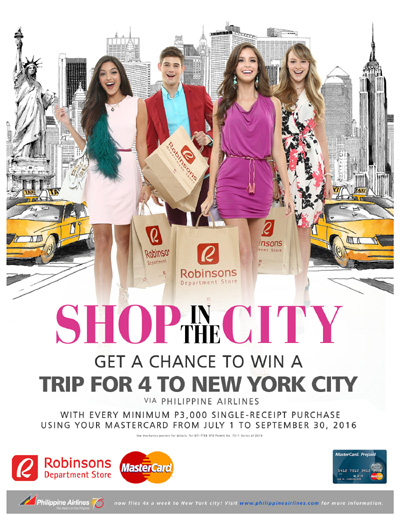 Shop in the City Promo