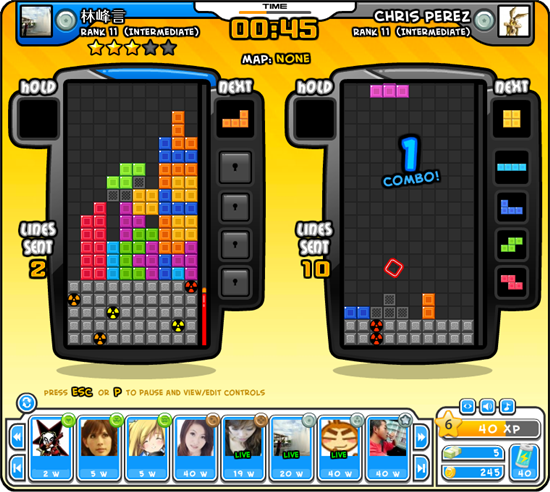 Tetris Battle