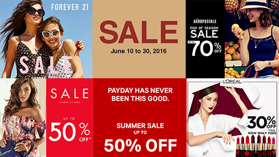 What's On Sale in Manila: June 17 onwards