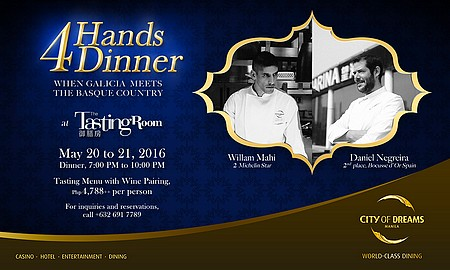 4 Hands Dinner: When Galicia Meets the Basque Country