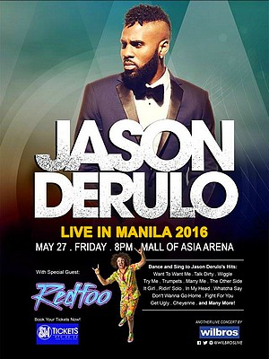 Jason Derulo Live in Manila