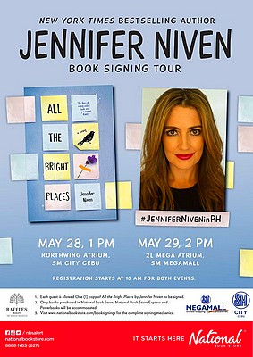 Jennifer Niven in Manila