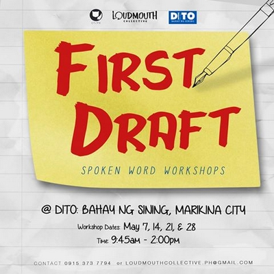 FIRST DRAFT: A Spoken Word Workshop