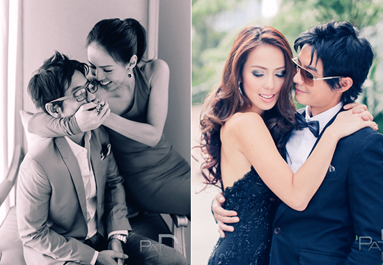 GP Reyes and Andi Manzano Prenup Photoshoot