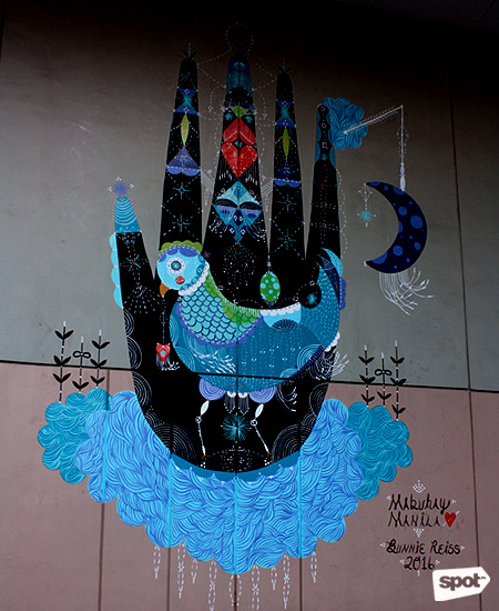Bonifacio global city holds 2016 art bgc mural festival for Bonifacio mural painting