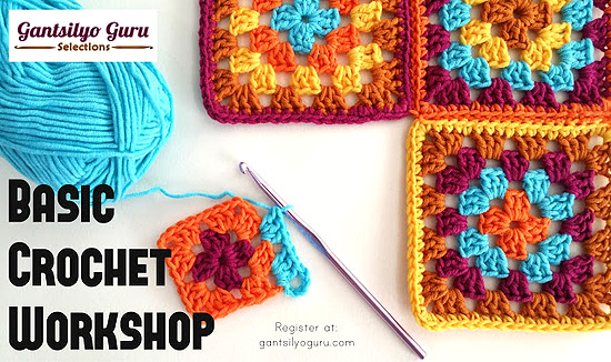 Basic Crochet Workshop with Gantsilyo Guru