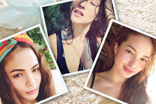 Pinoy Celebrity Beach Selfies