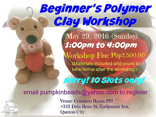 Beginner's Polymer Clay Workshop