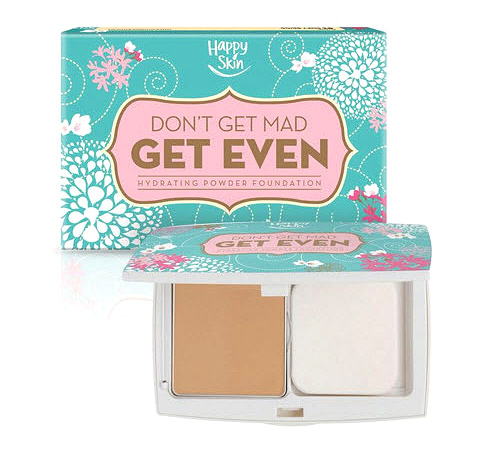 Happy Skin Don't Get Mad Get Even Hydrating Powder Foundation