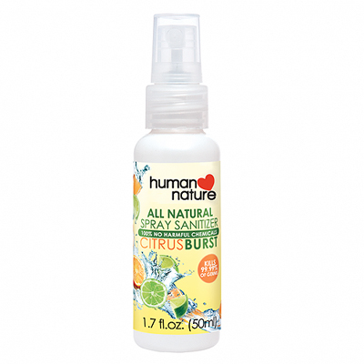 Human Nature All-Natural Spray Sanitizer
