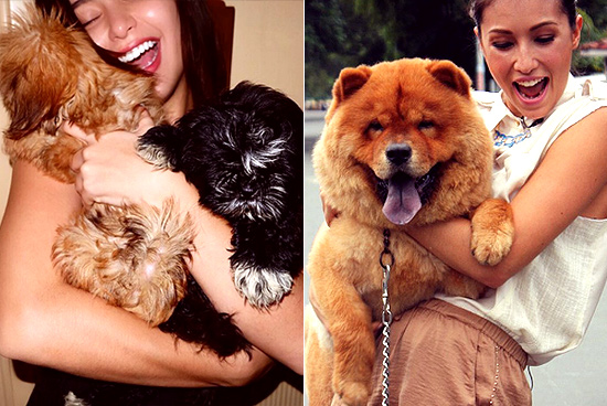 Pinoy celebrities and their pets