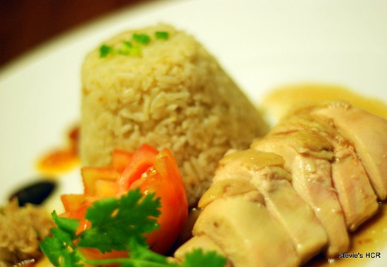 Stevie Hainanese Chicken