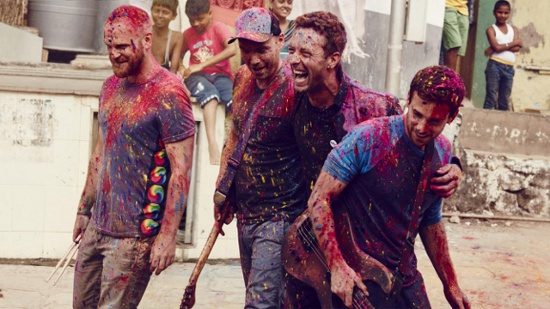 Coldplay Concert in Manila