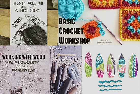 Crafting Calendar: Workshops for May 2016