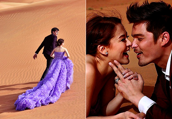 Dingdong Dantes and Marian Rivera Prenup Photoshoot