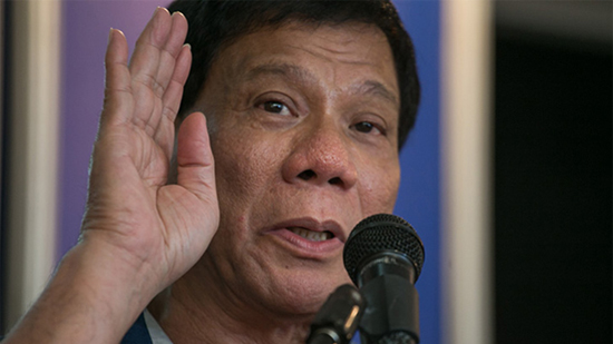 Duterte peace and order
