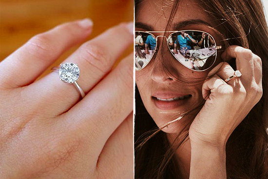 cut married images wears reporter celebrity best ring diamond entertainment bkdiamonds in engagement rancic a businessman she rings pinterest giuliana on bill cushion