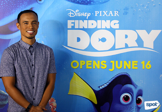Paul Abadilla Finding Dory interview