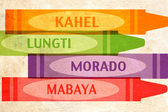 Names of Colors in Filipino
