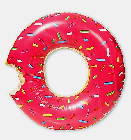 Giant Donut Floatie
