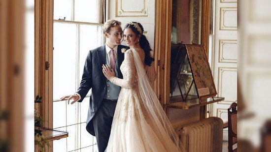 Georgina Wilson and Arthur Bernand