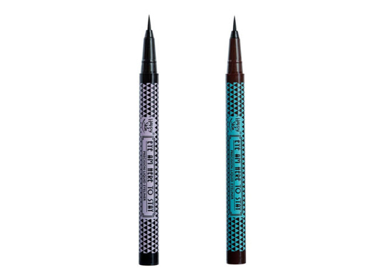 Eye Am Here To Stay Precision Liquid Eyeliner in Perfect Black and Chic Brown