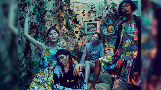 76264934 H&M x Kenzo Collaboration