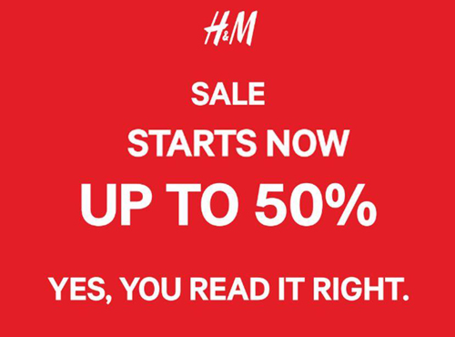 h&m mid-season sale