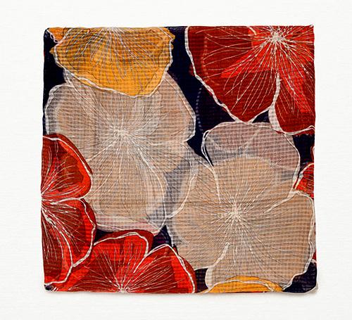 Large Floral-Print Scarf