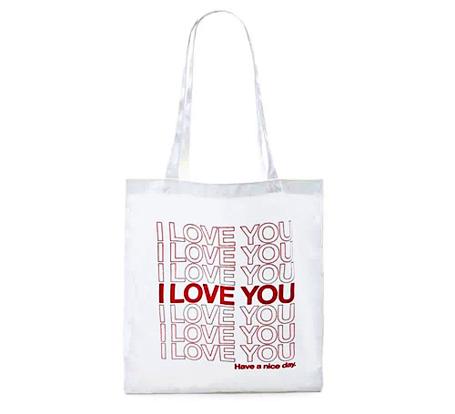 """I Love You"" Canvas Bag"