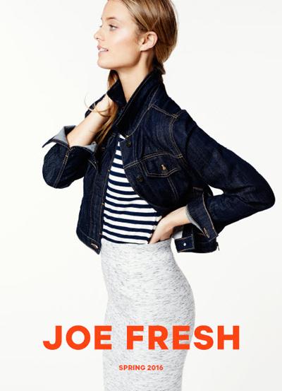 Joe Fresh Spring 2016