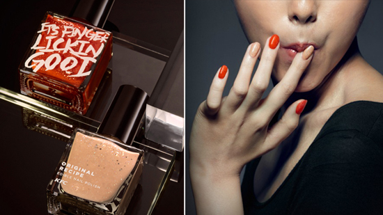 KFC edible nail polish