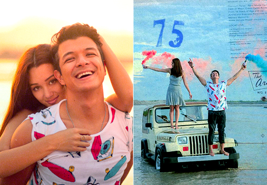 Jericho Rosales and Kim Jones Prenup Photoshoot