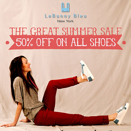 Le Bunny Bleu The Great Summer Sale