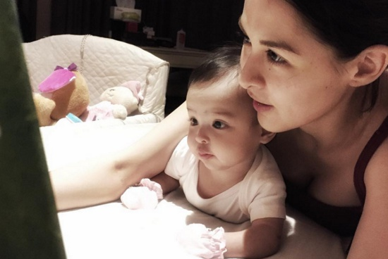 Dingdong Dantes posts lookalike photo of baby Zia and ...