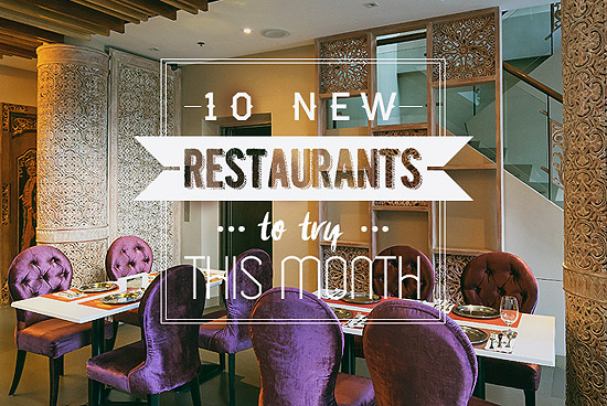 New Restaurants March