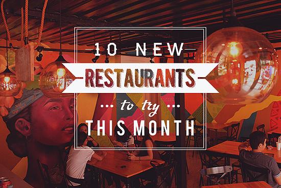New Restaurants April