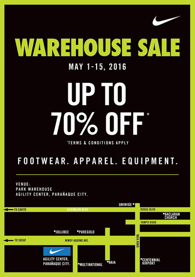 Nike Warehouse Sale