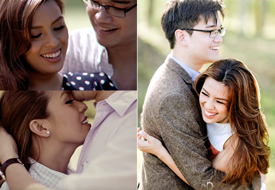 BJ Albert and Nikki Gil Prenup Photoshoot