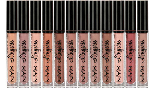 NYX Lip Lingerie Liquid Lipsticks