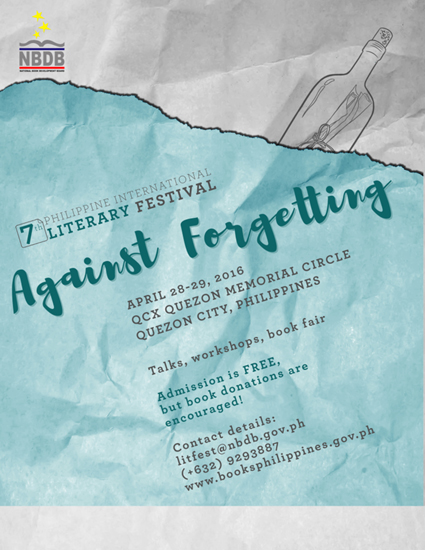 Philippine Literary Festival 2016