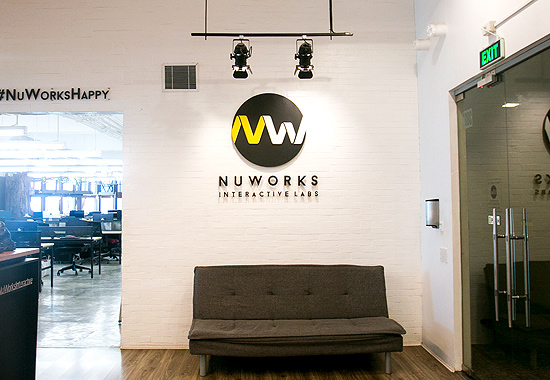 NuWorks reception
