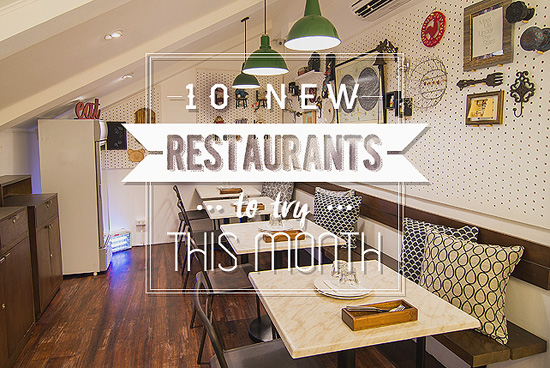 New Restaurants June