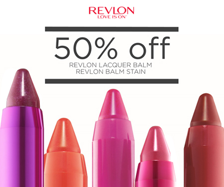 Revlon Lip Lacquer Balm and Balm Stain