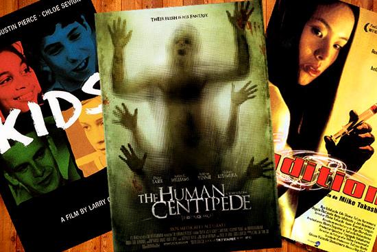 Disturbing Movies