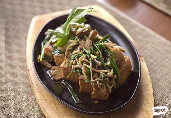 Shinsen Tofu Steak