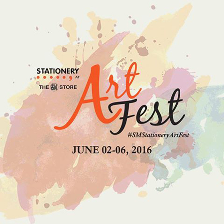 SM Stationery Art Fest
