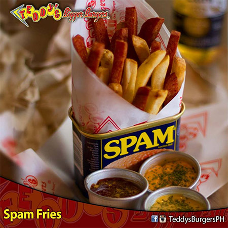 Spam Fries Teddy's